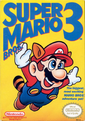 The official boxart for Super Mario Bros. 3