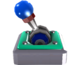 A deactivated Lever Switch in Super Mario Galaxy