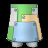 "The ""Platform Skirt"" Mii bottom"