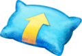 Blue Pillow Artwork - Mario & Luigi Dream Team.png