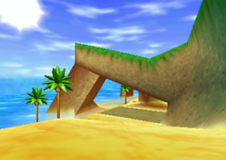 Crescent Island, from Diddy Kong Racing.