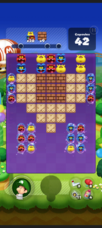 Stage 276 from Dr. Mario World