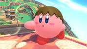 Kirby with Villager's ability