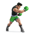Artwork of Little Mac for Super Smash Bros. for Nintendo 3DS / Wii U