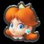 Daisy's head icon in Mario Kart 8