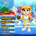 A Tikal costume for Miis in the Wii version of Mario & Sonic at the London 2012 Olympic Games.