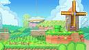 Paper Mario stage in Super Smash Bros. Ultimate