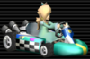 Rosalina in the Standard Kart L from Mario Kart Wii