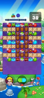 Stage 636 from Dr. Mario World