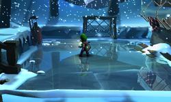 The Ice Lake segment from Luigi's Mansion: Dark Moon.