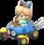 Baby Rosalina in Mario Kart 8