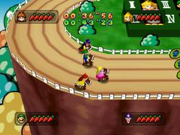 Rockin' Raceway from Mario Party 3.