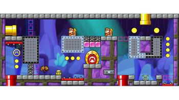 Miiverse screenshot of the 47th official level in the online community of Mario vs. Donkey Kong: Tipping Stars