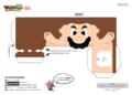 NKS Papercraft Mario Printable 1.png