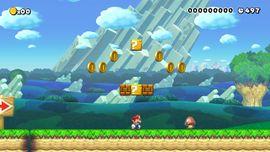 Ground level in Super Mario Maker