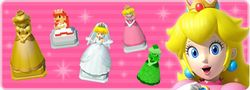 """In-game notification banner for """"Weekend Spotlight: Princess Peach"""" in Super Mario Run."""