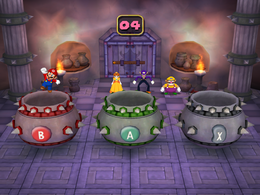 Scaldin' Cauldron from Mario Party 5