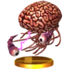 Andross (True Form) trophy from Super Smash Bros. for Nintendo 3DS
