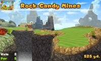Hole 3 of Rock-Candy Mines (golf course) in Mario Golf: World Tour