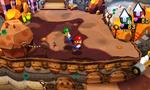 Screenshot of Mount Pajamaja from Mario & Luigi: Dream Team