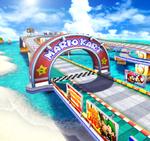 Mario Highway from Mario Kart Arcade GP 2