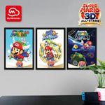 Super Mario 3D All-Stars poster set My Nintendo reward