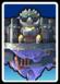 A Black Bowser's Castle card from Paper Mario: Color Splash
