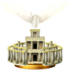 Palutena's Temple trophy from Super Smash Bros. for Wii U