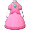 "The ""Princess Peach Dress"" Mii costume"