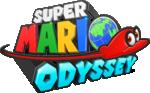 Preliminary logo of Super Mario Odyssey.