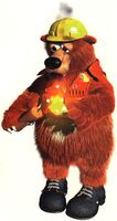 Artwork of Boomer from Donkey Kong Country 3: Dixie Kong's Double Trouble!