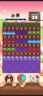 Stage 446 from Dr. Mario World