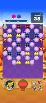 Stage 828 from Dr. Mario World
