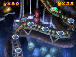 World 8 in the Mini-Game Coaster in the game Mario Party 2.