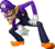 Artwork of Waluigi, used in Mario Party 8 and Mario Party: The Top 100
