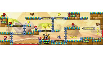 Miiverse screenshot of the 30th official level in the online community of Mario vs. Donkey Kong: Tipping Stars