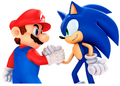 Sonic with mario pose 2.png
