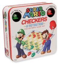 The package of Super Mario Checkers.