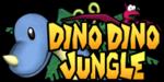 The logo for Dino Dino Jungle, from Mario Kart: Double Dash!!.