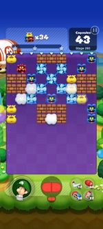 Stage 260 from Dr. Mario World since version 2.1.0