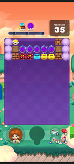 Stage 580 from Dr. Mario World