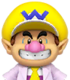 Sprite of Dr. Baby Wario from Dr. Mario World