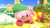 Kirby's Young Link cap, from Super Smash Bros. Ultimate.