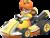 Princess Daisy in Mario Kart 8