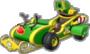 Luigi's Candy-Cane Cruiser icon in Mario Kart Live: Home Circuit