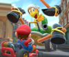 The Rosalina Cup Challenge from the Baby Rosalina Tour of Mario Kart Tour