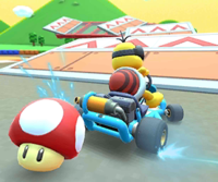 The Lakitu Cup Challenge from the New Year's Tour of Mario Kart Tour
