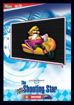 The Shooting Star card from the Mario Kart Wii trading cards
