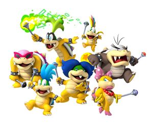 NSMBW Koopalings Group Artwork.jpg