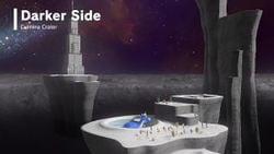 Screenshot of the Darker Side from Super Mario Odyssey.